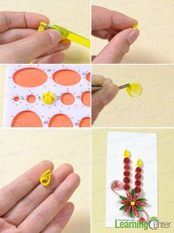 2462 best images about quilling on pinterest for Easy quilling designs step by step