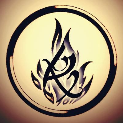 The Dauntless symbol from Divergent and the Fearless rune from The Mortal Instruments. Love love love the idea of this as a tattoo <3