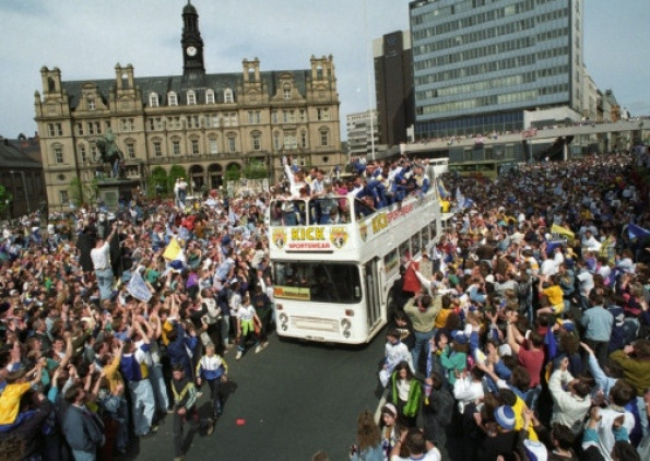 Leeds United back in the day.