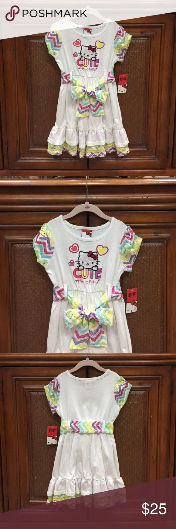 💕❤️💕 ( NWT ) GIRLS DRESS BY HELLO KITTY 💕❤️💕 💕❤️💕 ( NWT ) BRAND NEW WITH TAGS 💕 SPECIAL LITTLE GIRLS DRESS 💕 BY HELLO KITTY 💕❤️💕 HELLO KITTY Dresses Formal