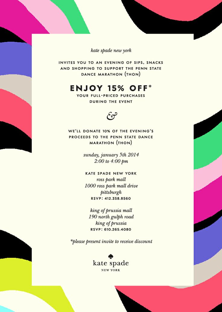 18 best shopping fundraisers images on pinterest fundraising theres a kate spade in northpark mall wonder if we could get something going there fandeluxe Gallery