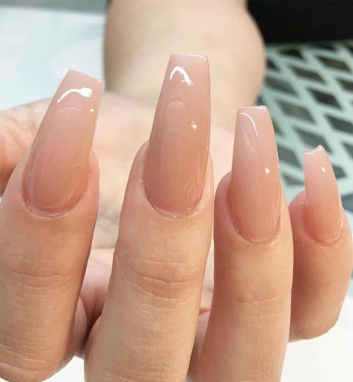 Coffin Nails Shared By Not Your Baby On We Heart It Classy Acrylic Nails Ballerina Nails Long Nails
