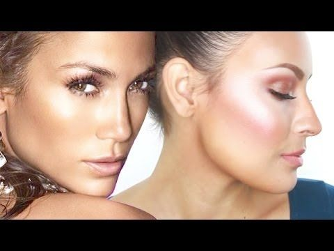 ▶ How to Get JLo's Glowy Skin - YouTube