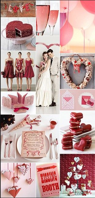 Wedding Inspiration A Heart Themed Valentine S Day