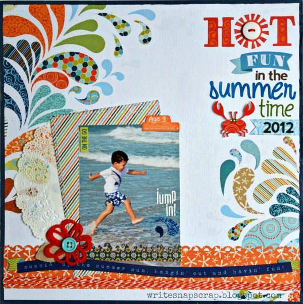 Hot Fun in the Summertime (My Creative Scrapbook) - Scrapbook.com