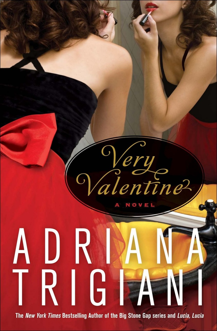 Book 1 in The Valentine Series by Adriana Trigiani. I must admit, it was the cover that got me interested in this one. So pretty. Here's my review: http://calicocritic.blogspot.com/2010/11/book-review-very-valentine-by-adriana.html
