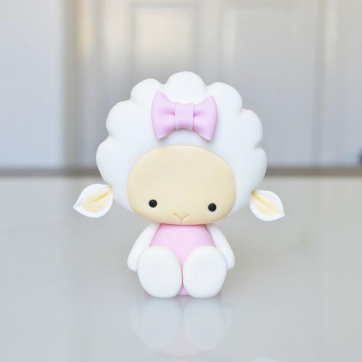 DIY Cute Lamb Polymer Clay Step-by-Step Tutorial