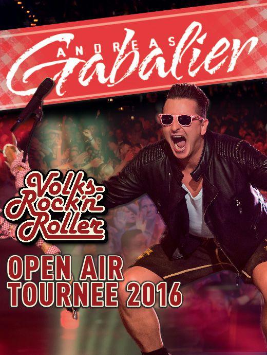 Andreas Gabalier - Open Air Tournee 2016 - Tickets unter: www.semmel.de