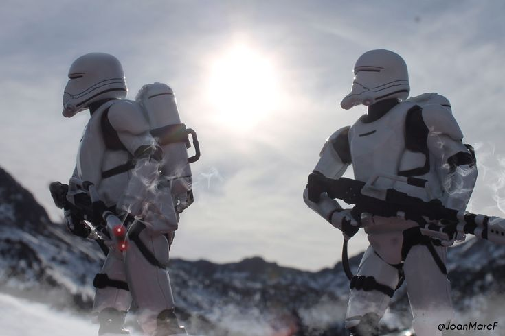 2 Flametroopers / toyphotography