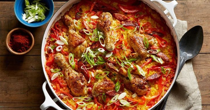 Curtis Stone's chicken and chorizo paella is a meal the whole family can enjoy.