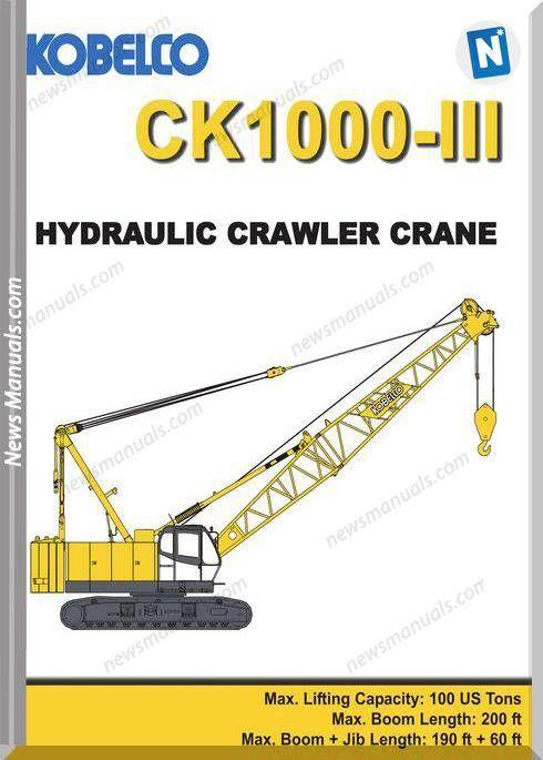 Ghim của News Manuals trên Hydraulic Manual | Pinterest | Crawler