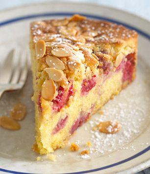 Raspberry & Almond Cake | Taste & Smile