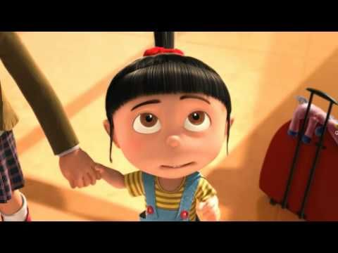 Despicable Me -  Agnes So fluffy!   One of the absolute cutest moments in animation EVER!!