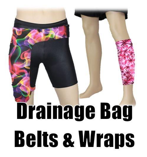 PouchWear Catheter Drainage Bag Holder Custom Belts & Wraps