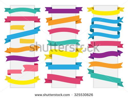 This image is a vector file representing a Label Tag Banner Ribbon Vector collection set./Label Tag Banner Ribbon Vector/Label Tag Banner Ribbon Vector