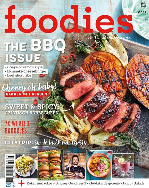 foodies juli 2017: The BBQ issue