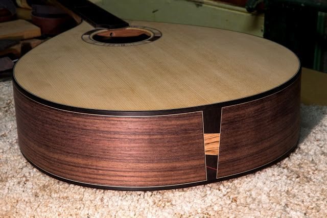 Wood With Strings: The Irish Bouzouki - More Progress Shots