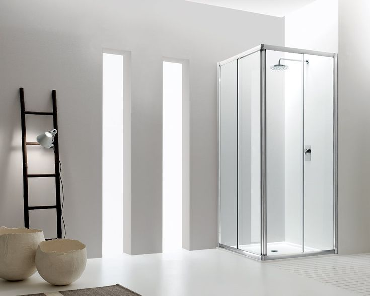 Jolly: a complete shower enclosures system consisting of sliding doors, folding doors, double doors, saloon doors, fixed panels and curved corner with two sliding doors. Its matching up elements offer many solutions not only of simple and well structured design but also of light and harmonious lines, which easily fit the bathroom nevertheless the reduced costs.