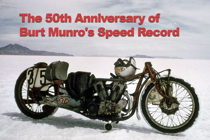 "Discover how the spirit of Burt Munro lives on. 50 years ago, Herbert ""Burt"" Munro set a land speed record that still stands today."
