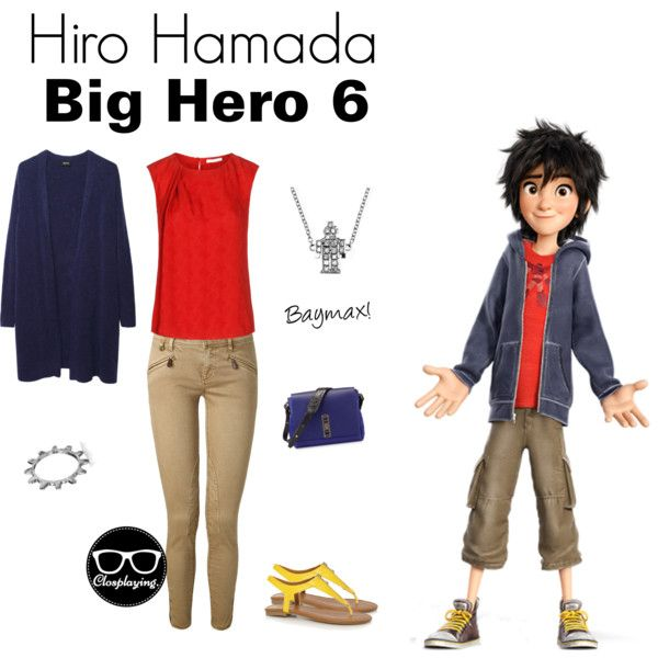 """Hiro Hamada Closplay - Big Hero 6"" by closplaying on Polyvore<------- Doing thisssssssssssssss"