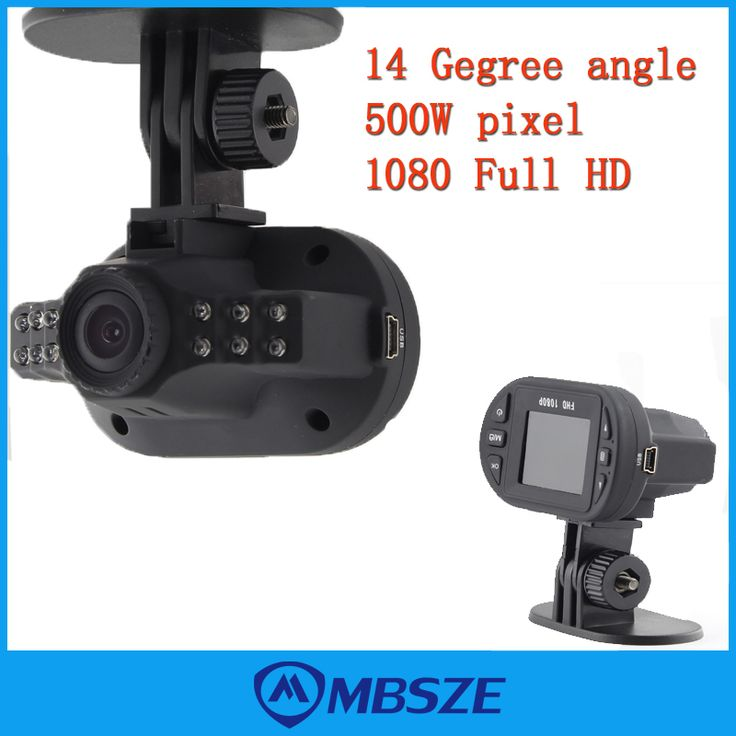 HD 1080P Car DVR Vehicle Camera Video Recorder Dash Cam 120 Degree angle G sensor HDMI