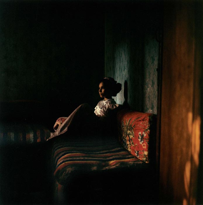Camera Obscura, Denis Dailleux, Adolescente dans un village près du Caire, 1996