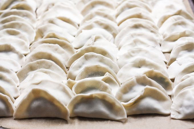 Chinese Beef Dumplings With Celery Recipe Food Cooking Chinese Food Chicken Spring Rolls
