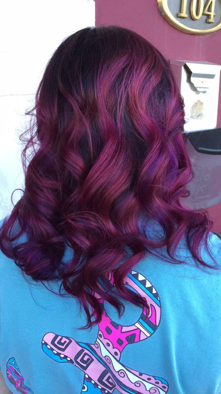 Magenta hair                                                                                                                                                                                  More