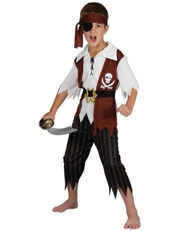 Childrens Cut Throat Pirate Costume.  sc 1 st  Pinterest & The 25 best Childrenu0027s Pirate Fancy Dress Ideas images on Pinterest ...