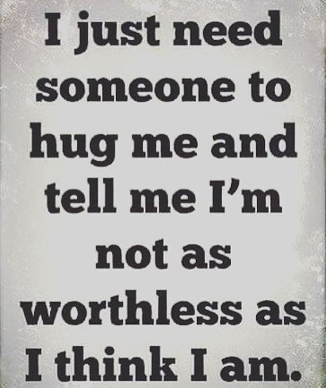 I need this yes a simple text can bother me.  So who would want to hug me?