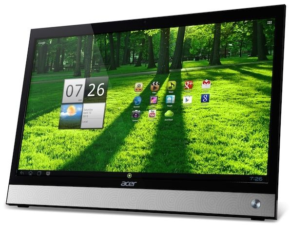 La Acer Smart Display DA220HQL es una equipo Android todo en uno que se puede utilizar como tablet de 21.5 pulgadas, PC de escritorio ya sea con Android o conectándolo como monitor a una PC con Windows e incluso como Smart TV.