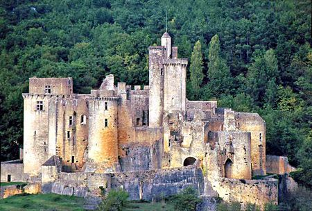 Château de Bonaguil, Saint-Front-sur-Lémance, Lot-et-Garonne, France