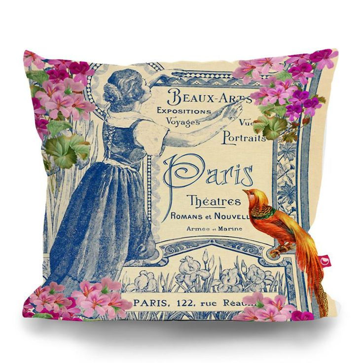 Cushion Cover PARIS THEATRE by Sticky!!!