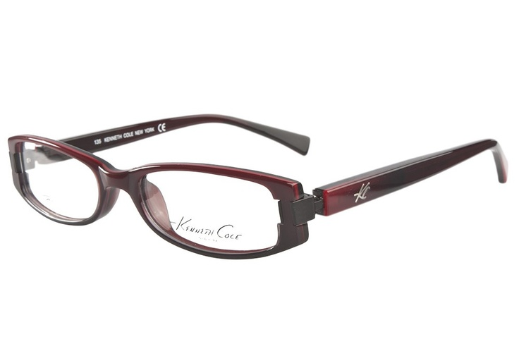 Kenneth Cole New York 134 068 Black Red | It's Your Lucky Day! Love this frame? Re-pin it for your chance to win it!