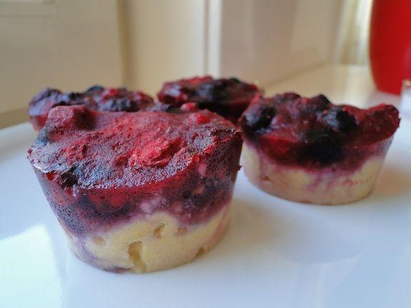 Easy berries tartlets - 4 ingredients