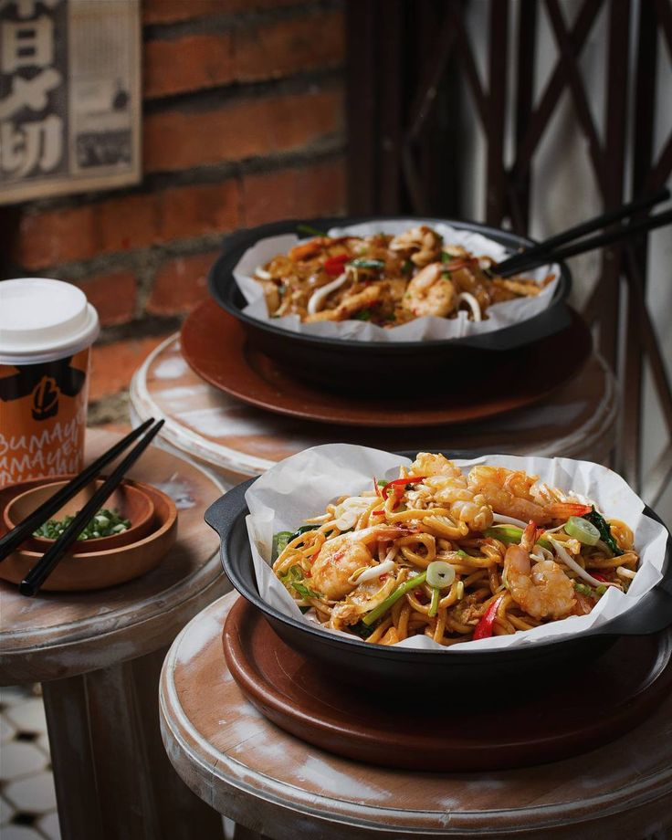 Feeling up for a hawwt & spicy Mie Mamak for lunch make it two!  // at Bumaye Spazio.  #inijiegram #food #TableToTable #kuliner #culinary