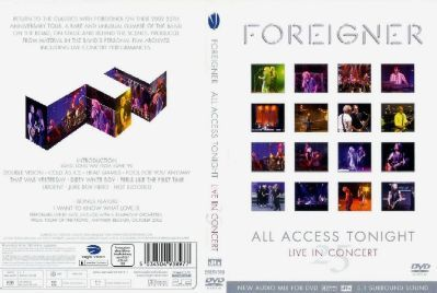 DVD - OFFICIAL DVD - FEATURING LOU GRAMM