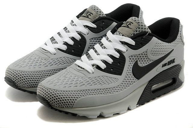 Authentic Nike Air Max 90 Mens Black White Trainers outlet
