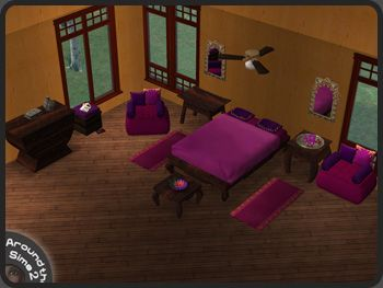 Around the Sims 2 | Objects | Bedroom | Ethnic