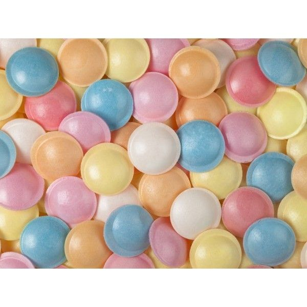 Sherbet flying saucers sweets ($27) ❤ liked on Polyvore featuring backgrounds, pictures, filler, fondos and food & drink