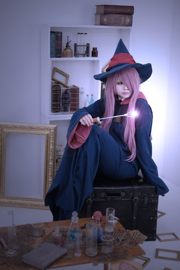 Little Witch Academia - NEKO Sucy Manbavaran Cosplay Photo - Cure WorldCosplay