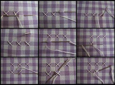 Free Chicken Scratch Embroidery Patterns | Kerri Made: Chicken Scratch Bookmarks Tutorial