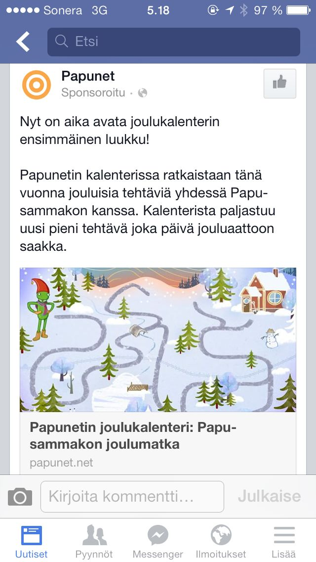 http://papunet.net/joulukalenteri/
