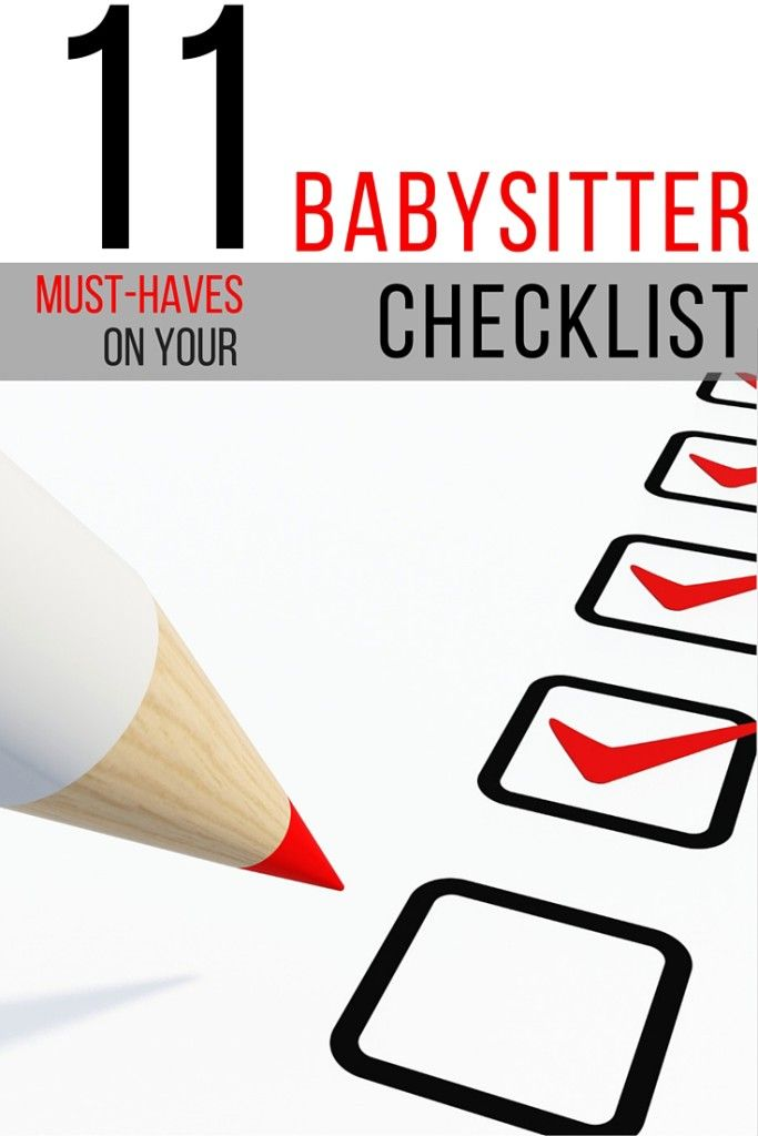 How to Be a Great Babysitter Tips & Babysitter Checklist! How to train your perfect babysitter or help your kids have fun.