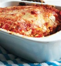 Beef cannelloni  Better Choice Serves 6  www.weighless.co.za/Recipes/Red-Meat/Beef-cannelloni