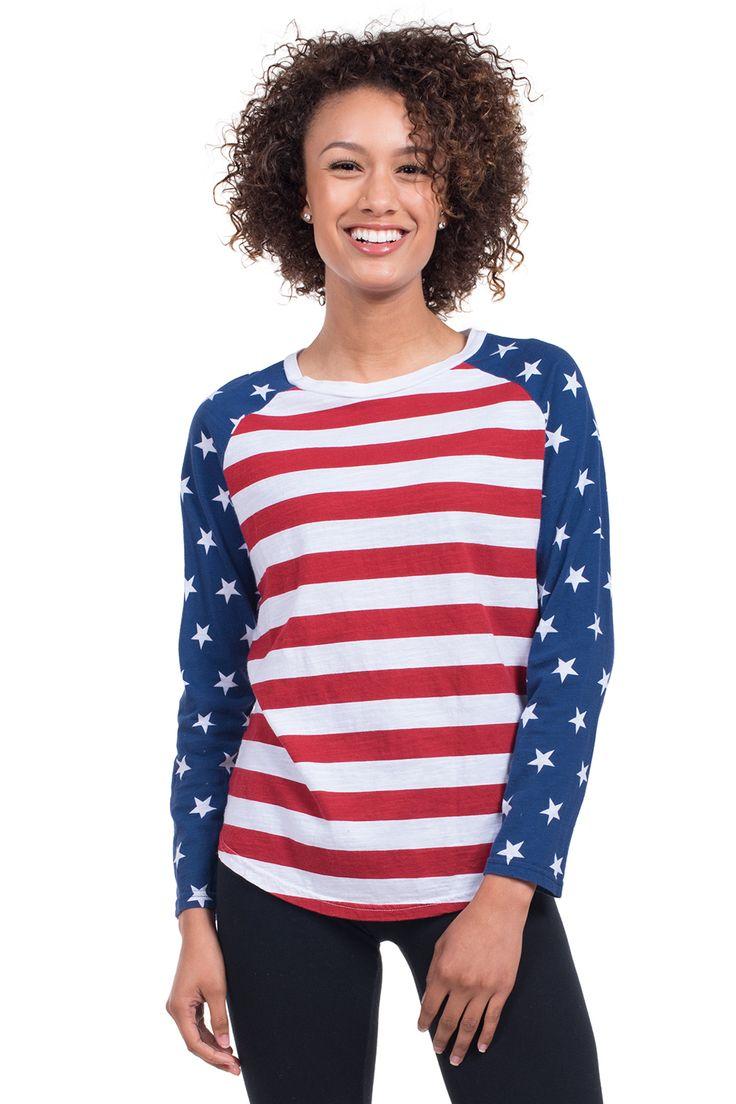 Women's American Flag Sweater