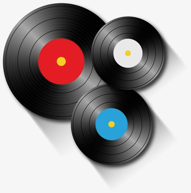 Vector Vinyl Records Decoration Nostalgic Classical Png Transparent Clipart Image And Psd File For Free Download Vinyl Records Vinyl Records