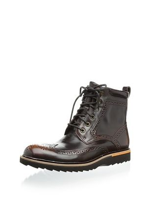 Rockport Men's Union Street Wingtip Boot (Tan)