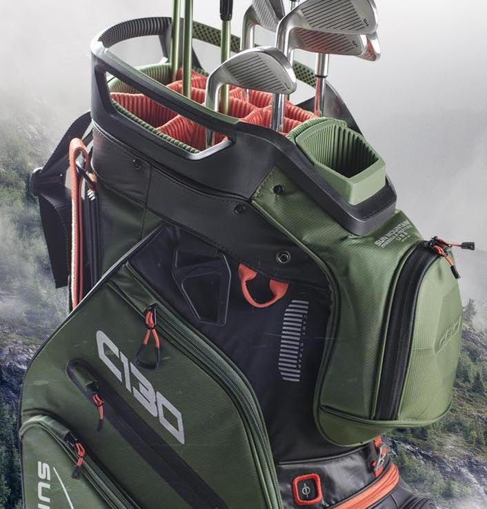 Sun Mountain S Best Selling Cart Golf Bag The C 130 Was Created To Work Optimally On A Cart All Of The Features Are Designed With Cart Us Golf Bags Golf Bags