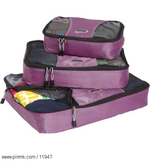 eBags Packing Cubes - 3pc Set: 3Pc Sets, Women Apparel, Europe Trips, Ebag Packs, Nur Things, Cubes Options, Packing Cubes, Neato Products, Packs Cubes